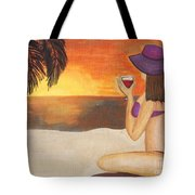 Enjoy The Beach Tote Bag
