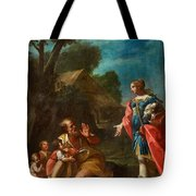Erminia Among The Shepherds Tote Bag