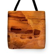 Eroded Sandstone Valley Of Fire Tote Bag