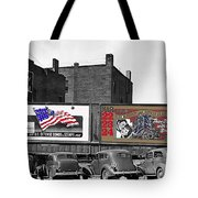 Errol Flynn They Died With Their Boots On 1940 Prescott Arizona Color Added 2011 Tote Bag
