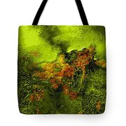 eruption II Tote Bag