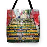 Escadaria Selaron In Rio De Janeiro Tote Bag