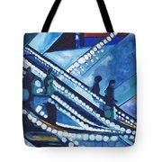 Escalator Lights Tote Bag