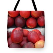 European Markets - Nectarines Tote Bag