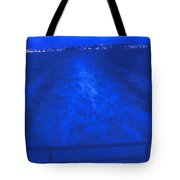 Evening Fast Ferry Tote Bag