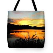 Evening Glow Tote Bag