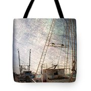 Evening In The Harbor Tote Bag