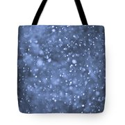 Evening Snow Tote Bag