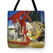 Everquest Abraxsis Keith Parkinson Tote Bag