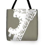 Ewr Newark Liberty International Airport In Newark Usa Runway Si Tote Bag