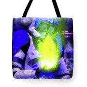 Execute Order 66 Blue Team Commander - Cartoonized Style Tote Bag
