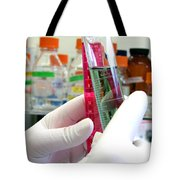 Experiment In Science Research Lab Tote Bag