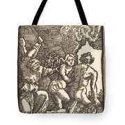 Expulsion From Paradise Tote Bag