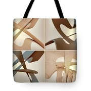 F S - Foursome Shapeallization Tote Bag