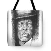 Face Of The Blues - John Lee Hooker Tote Bag