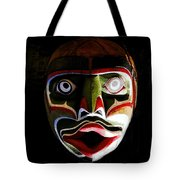 Face Of Totem Tote Bag