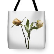 Faded Rose Flower Tote Bag