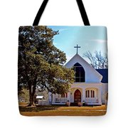 Fairhope Sacred Heart Church Tote Bag