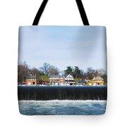 Fairmount Dam - Boathouse Row Tote Bag
