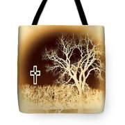 Faith And Strength Tote Bag