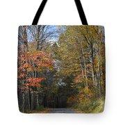 Fall Lane Tote Bag