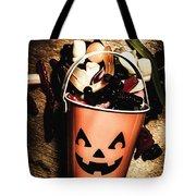 Fall Of Halloween Tote Bag