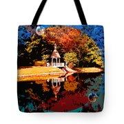 Fall Orbit Tote Bag