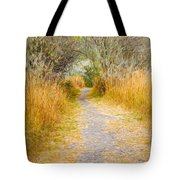 Fall Pathway 3 Tote Bag
