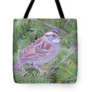 Fall Sparrow Tote Bag