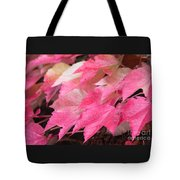 Fall Virginia Creeper Tote Bag