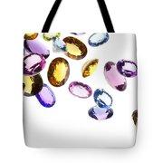 Falling Gems Tote Bag