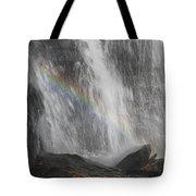 Falls And Rainbow Tote Bag