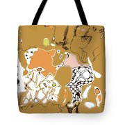Family Beige Tote Bag