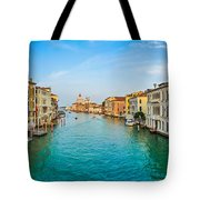 Famous Canal Grande In Venice Tote Bag