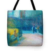 Fan Pier, Boston Tote Bag