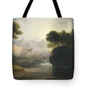 Fanciful Landscape Tote Bag