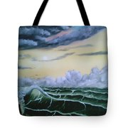 Fantasy Seascape Tote Bag