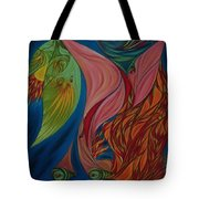 Far Away Eyes Tote Bag