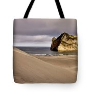 Farewell Spit New Zealand Tote Bag