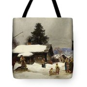 Farm In The Dales Tote Bag