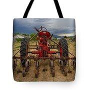 Farmall Tractor Tote Bag