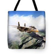 Fear The Bones F-14 Tote Bag