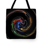Feel Happy-colorful Digital Art That Can Enhance Your Mood Tote Bag