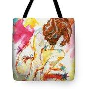 Female Nude Figure Study Tote Bag