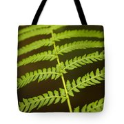 Fern Pattern Tote Bag