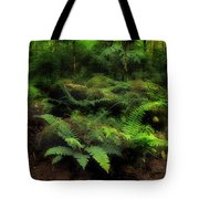Ferns Of The Forest Tote Bag