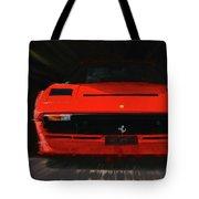 Ferrari 208 Gtb Turbo. Tote Bag