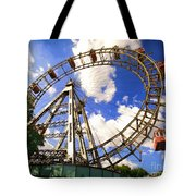 Ferris Wheel At The Prater  Tote Bag