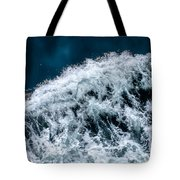 Ferry Waves Tote Bag