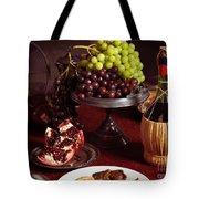 Festive Dinner Still Life Tote Bag